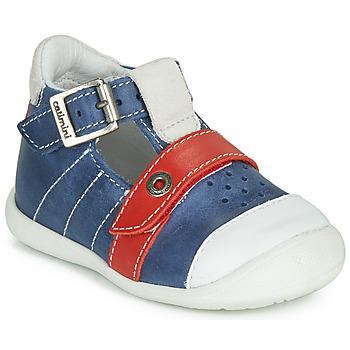 Zapatos Niño Sandalias Catimini SESAME Azul / Rojo