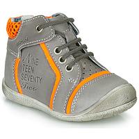 Zapatos Niño Botas de caña baja Catimini SEREVAL Gris / Naranja