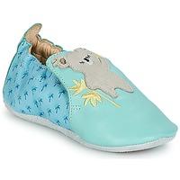 Zapatos Niños Pantuflas para bebé Catimini SHIVA Azul / Gris