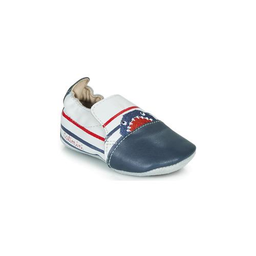 Zapatos Niño Pantuflas Catimini SIMOCYBE Marino / Blanco / Rojo