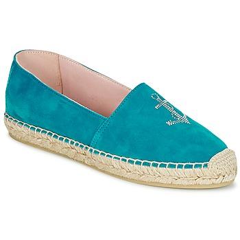Zapatos Mujer Alpargatas Pretty Ballerinas ANGELIS Turquesa
