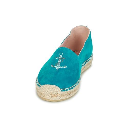 Alpargatas Ballerinas Zapatos Pretty Turquesa Angelis Mujer A5q34RLj
