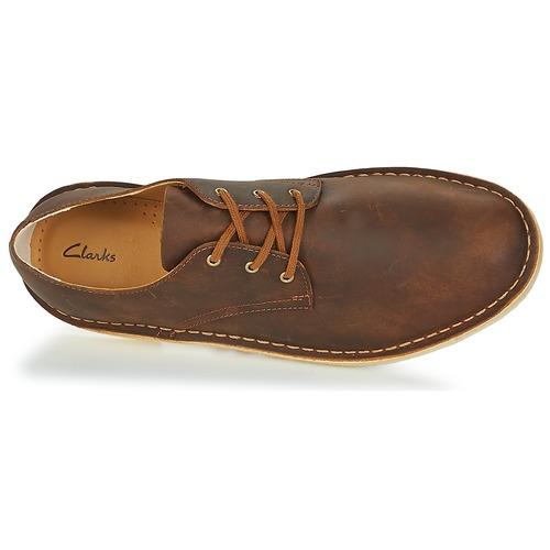 Los zapatos más populares para hombres y mujeres   mujeres Clarks DESERT CROSBY Marrón - Envío gratis Nueva promoción - Zapatos Derbie Hombre fd70ae