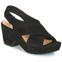 Zapatos Mujer Sandalias Clarks MARITSA LARA Negro / Aterciopleado