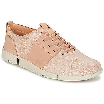 Zapatos Mujer Zapatillas bajas Clarks TRI CAITLIN Rosa
