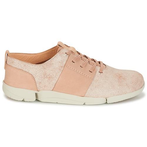 Zapatos Caitlin Rosa Zapatillas Clarks Tri Mujer Bajas X8nPNwkZ0O