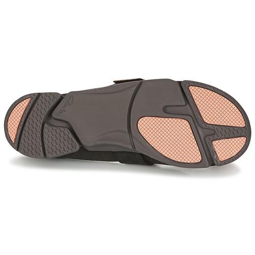 Negro manoletinas Bailarinas Tri Carrie Clarks Zapatos Mujer JK15TlFcu3