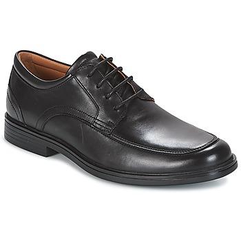 Zapatos Hombre Derbie Clarks UN ALDRIC PARK Negro
