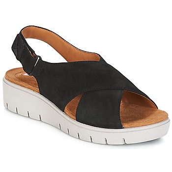 Zapatos Mujer Sandalias Clarks UN KARELY HAIL Negro