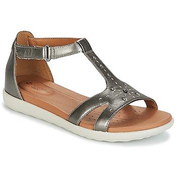 Zapatos Mujer Sandalias Clarks UN REISEL MARA Pewter / Metalico / Leather