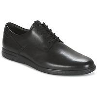 Zapatos Hombre Derbie Clarks VENNOR WALK Negro