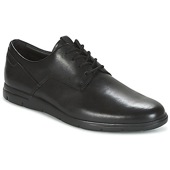 Zapatos Hombre Derbie Clarks VENNOR WALK Negro / Leather