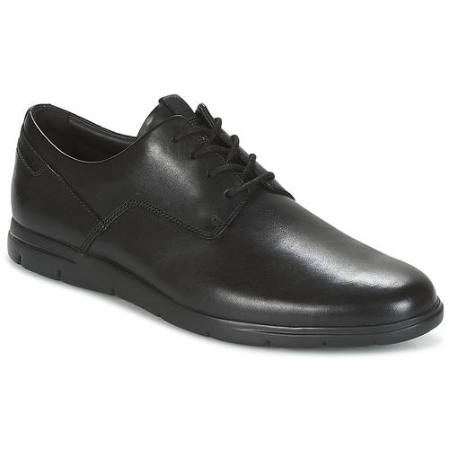 Zapatos especiales para hombres y mujeres Clarks VENNOR WALK Negro