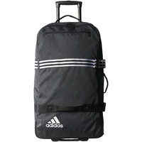 Bolsos Bolso de viaje adidas Performance Trolley grande Team Travel Negro / Blanco