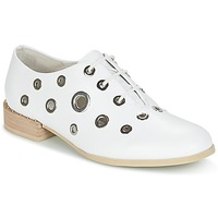 Zapatos Mujer Derbie Café Noir IVET Blanco