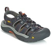 Zapatos Hombre Sandalias de deporte Keen NEWPORT H2 Gris