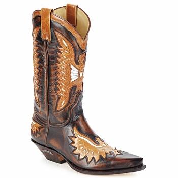 Zapatos Hombre Botas urbanas Sendra boots CHELY Marrón