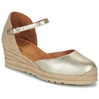 Zapatos Mujer Sandalias Unisa CISCA Oro