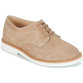 Zapatos Niño Derbie Pablosky NOUFF Beige