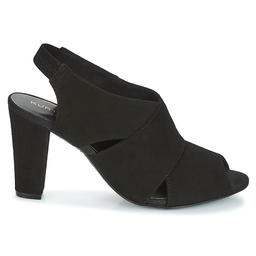 Negro Sandalias Kurt Geiger Foot flex Zapatos sandal By Mujer black Kg coverage ulK1TFJc3