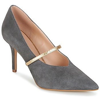 Zapatos Mujer Zapatos de tacón KG by Kurt Geiger V-CUT-MID-COURT-WITH-STRAP-GREY Gris