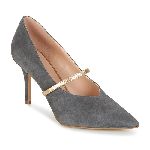 KG by Kurt Geiger - V-CUT-MID-COURT-WITH-STRAP-GREY