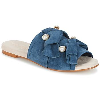 Zapatos Mujer Zuecos (Mules) KG by Kurt Geiger NAOMI-BLUE Azul