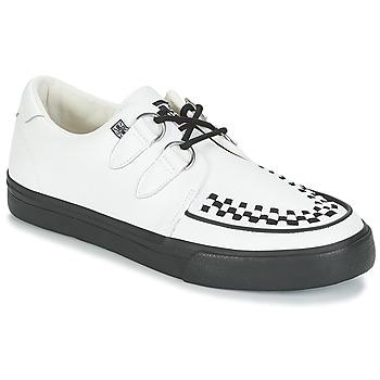 Zapatos Zapatillas bajas TUK CREEPERS SNEAKERS Blanco / Negro