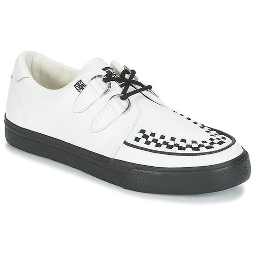 ZapatosTUK  CREEPERS SNEAKERS Blanco / Negro  ZapatosTUK Descuento de la marca e94cfc
