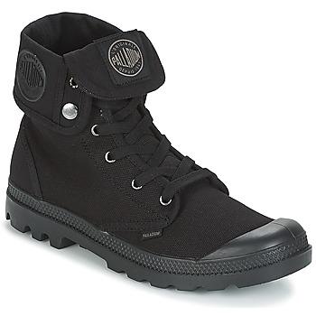Zapatos Hombre Botas de caña baja Palladium BAGGY Negro