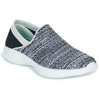 Zapatos Mujer Slip on Skechers YOU Negro / Blanco