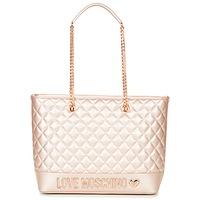 Bolsos Mujer Bolso shopping Love Moschino JC4003PP15 Rosa / Oro