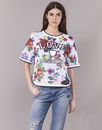 textil Mujer Tops / Blusas Love Moschino W4G2801 Blanco / Multicolor