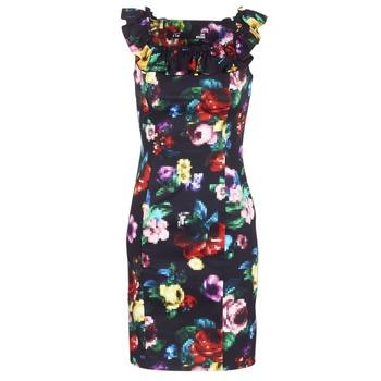 textil Mujer vestidos cortos Love Moschino WVG3100 Negro / Multicolor