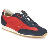 Zapatos Hombre Zapatillas bajas Hugo Boss Orange ORLANDO LOW PROFILE Rojo / Marino