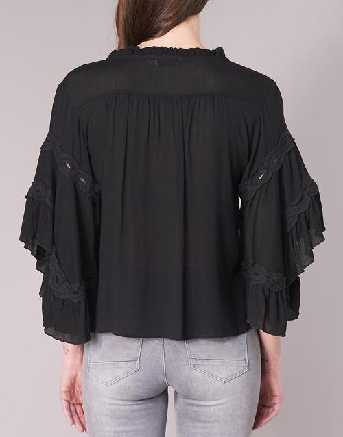Negro TopsBlusas 8112057 Mujer See U Textil Soon Ygf6yb7