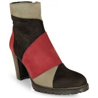 Zapatos Mujer Low boots Dimo BOTIN PATCHWORK MULTI COLOR