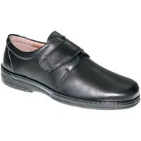 Zapatos Hombre Mocasín Primocx Zapato velcro hombre especial para diabéticos muy cómodo negro