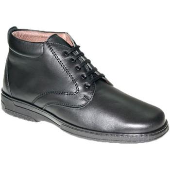 Zapatos Hombre Botas de caña baja Primocx Bota cordones hombre especial para diabéticos muy cómodas negro