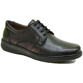 Zapatos Hombre Derbie Primocx Zapato hombre gomas especial para diabéticos extra cómodo negro