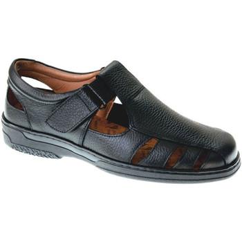 Zapatos Hombre Sandalias Primocx Sandalias hombre especial para diabéticos muy cómodas negro