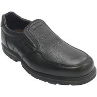Zapatos Hombre Mocasín Made In Spain 1940 Zapato hombre piso de goma elásticos a l negro