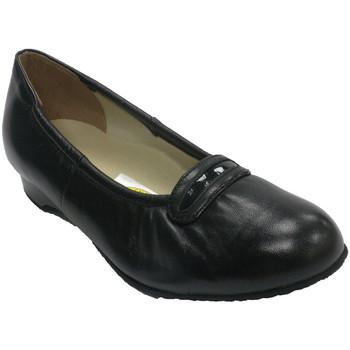 Zapatos Mujer Mocasín Roldán Manoletina mujer para persona mayor muy cómodo negro