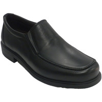 Zapatos Hombre Mocasín Nifty Zapato hombre gomas a los lados negro