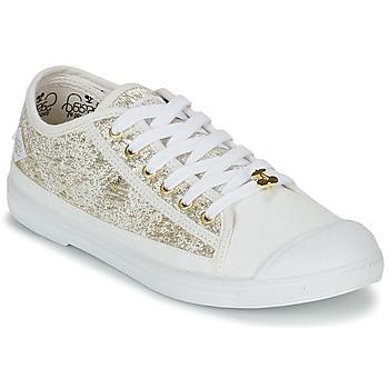 Zapatos Mujer Zapatillas bajas Le Temps des Cerises BASIC 02 Oro