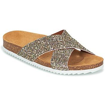 Zapatos Mujer Zuecos (Mules) Le Temps des Cerises FALONE Oro