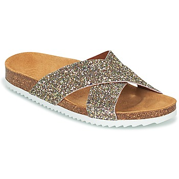 Zapatos Mujer Zuecos (Mules) Le Temps des Cerises FALONE Glitter