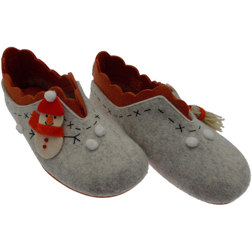 Riposella RIP4572be marrone - Zapatos Pantuflas Mujer