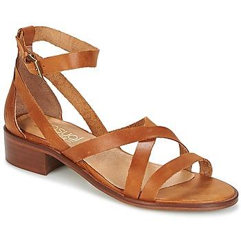 Zapatos Mujer Sandalias Casual Attitude COUTIL Marrón