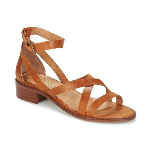 Casual Attitude COUTIL Marrón - Envío gratis | ! - Zapatos Sandalias Mujer